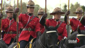 RCMP Musical ride preparing for emotional tribute